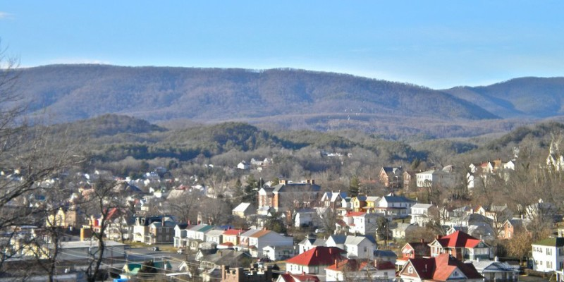 Town of Clifton Forge view