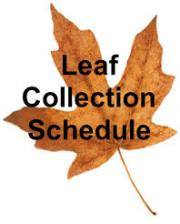 Town of Clifton Forge leaf schedule