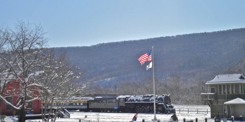 Town of Clifton Forge train