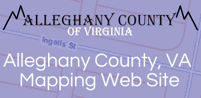 Alleghany County VA Mapping