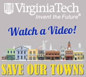 "Town of Clifton Forge VA - Virginia Tech ""Save Our Towns"""